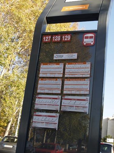 estacion de autobus de lleida: