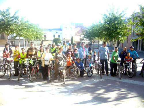 Cycling against climate change in the Lleida Area.